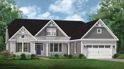 Chesapeake Homes -  The Gardenia Elevation F