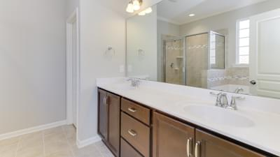 Chesapeake Homes -  The Melody Owner's Bath