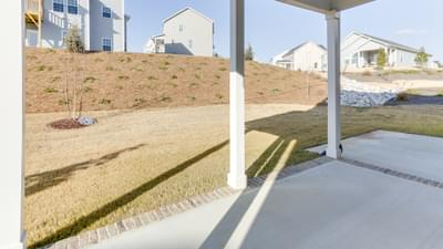 Chesapeake Homes -  The Melody Rear Covered Porch
