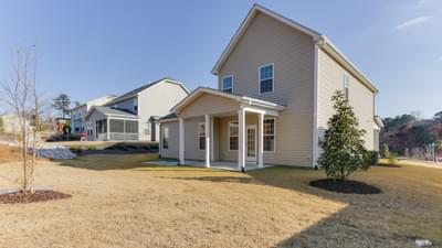 Chesapeake Homes -  The Melody Exterior Rear