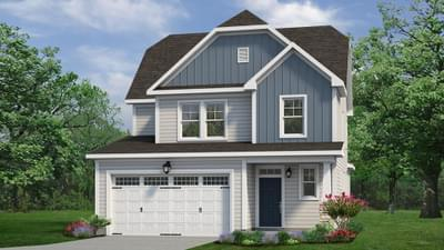 Chesapeake Homes -  The Hickory Elevation A