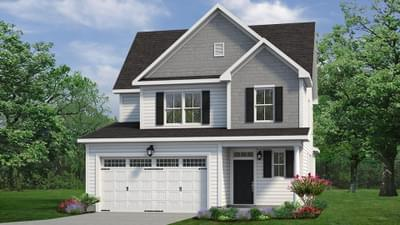 Chesapeake Homes -  The Hickory Elevation B