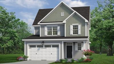 Chesapeake Homes -  The Hickory Elevation C