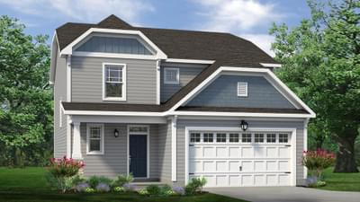 Chesapeake Homes -  The Maple Elevation A