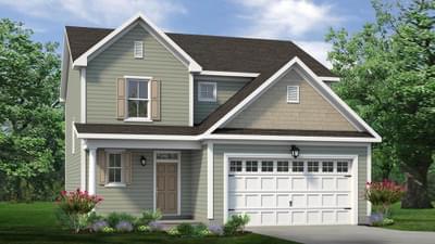 Chesapeake Homes -  The Maple Elevation B