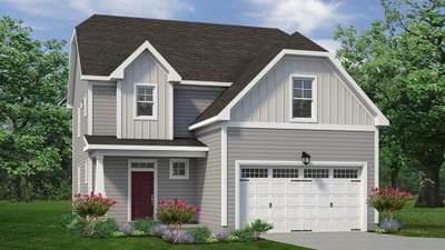 Chesapeake Homes -  The Willow Elevation A
