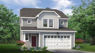 Chesapeake Homes -  The Holly Elevation A