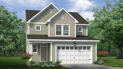 Chesapeake Homes -  The Holly Elevation B