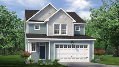 Chesapeake Homes -  The Holly Elevation C