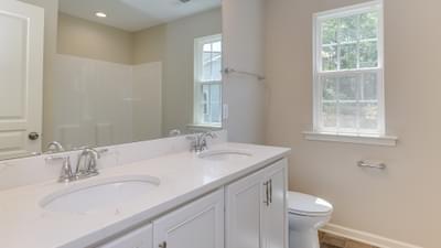 Chesapeake Homes -  The Grace Hall Bathroom