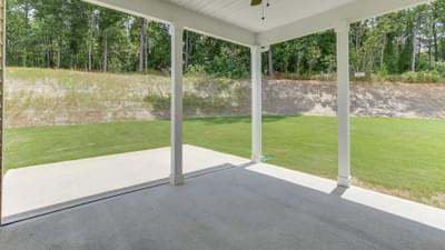 Chesapeake Homes -  The Grace Rear Covered Porch