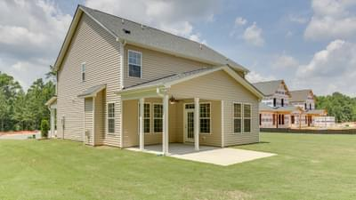 Chesapeake Homes -  The Grace Rear Exterior