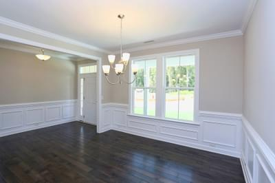 Chesapeake Homes -  The Finale Dining Room