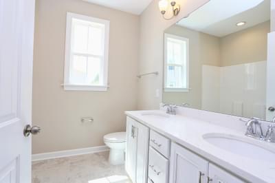 Chesapeake Homes -  The Finale Hall Bath