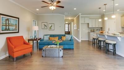 Chesapeake Homes -  The Mandolin Great Room