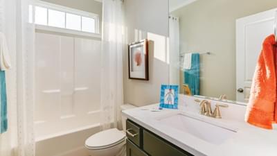 Chesapeake Homes -  The Mandolin Hall Bathroom