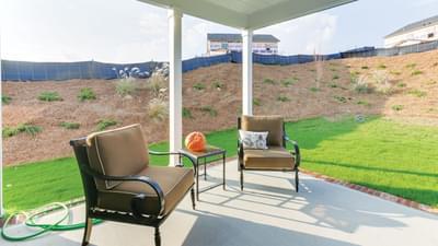 Chesapeake Homes -  The Mandolin Rear Covered Porch