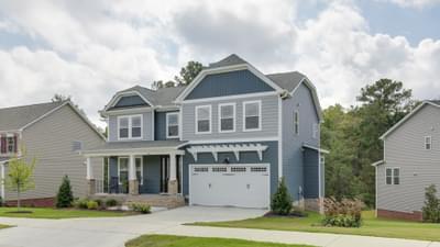 Chesapeake Homes -  The Concerto Basement Exterior