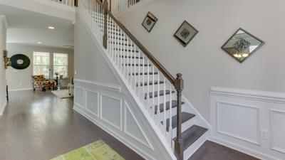 Chesapeake Homes -  The Concerto Basement Foyer