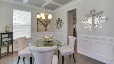 Chesapeake Homes -  The Concerto Basement Dining Room
