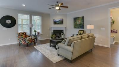 Chesapeake Homes -  The Concerto Basement Great Room