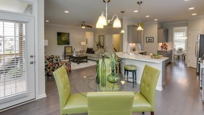 Chesapeake Homes -  The Concerto Basement Breakfast Area
