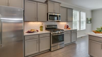 Chesapeake Homes -  The Concerto Basement Kitchen