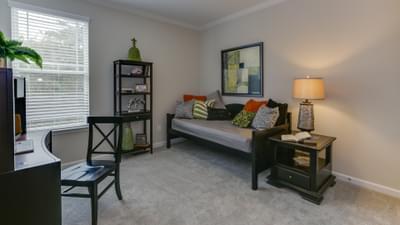 Chesapeake Homes -  The Concerto Basement Bedroom 4