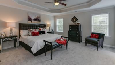 Chesapeake Homes -  The Concerto Basement Owner's Suite