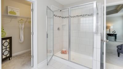 Chesapeake Homes -  The Concerto Basement Owner's Bath