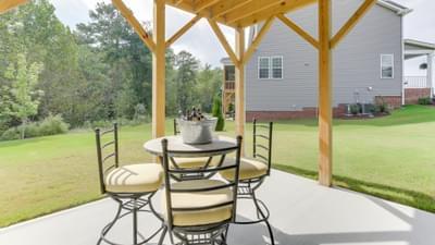 Chesapeake Homes -  The Concerto Basement Rear Patio