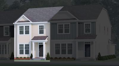 Chesapeake Homes -  The Rosemary Elevation A