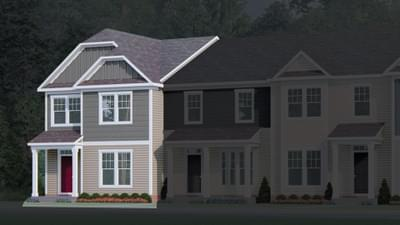 Chesapeake Homes -  The Sage Elevation A
