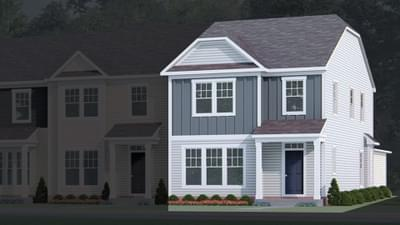 Chesapeake Homes -  The Lavender Multi-Gen Elevation A