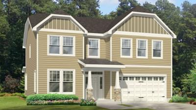 Chesapeake Homes -  The Concerto Basement Elevation A