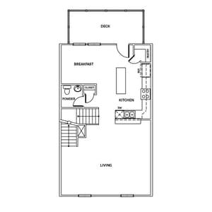 Chesapeake Homes -  The McIntosh Second Floor