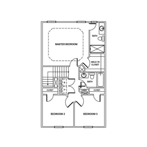 Chesapeake Homes -  The McIntosh Third Floor
