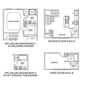 Chesapeake Homes -  The Ambrosia Options