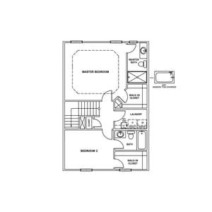 Chesapeake Homes -  The Ambrosia Third Floor