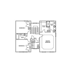Chesapeake Homes -  The Rhapsody Basement Second Floor