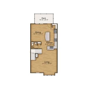 Chesapeake Homes -  The Haydn Second Floor