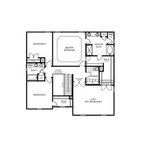 Chesapeake Homes -  The Concerto Basement Second Floor