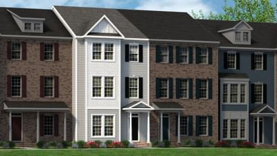 Chesapeake Homes -  The Picasso Elevation D