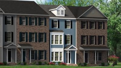 Chesapeake Homes -  The Haydn Elevation A