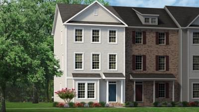 Chesapeake Homes -  The Mozart Elevation A