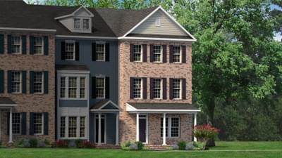 Chesapeake Homes -  The Mozart Elevation B