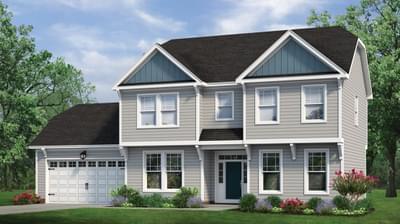 Chesapeake Homes -  The Rhapsody Basement Elevation A