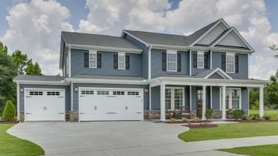 Chesapeake Homes -  Highgate The Harmony Elevation G