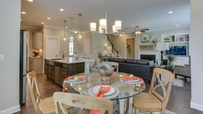 Chesapeake Homes -  Highgate Breakfast Area