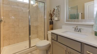 Chesapeake Homes -  Highgate Full Bath Downstairs